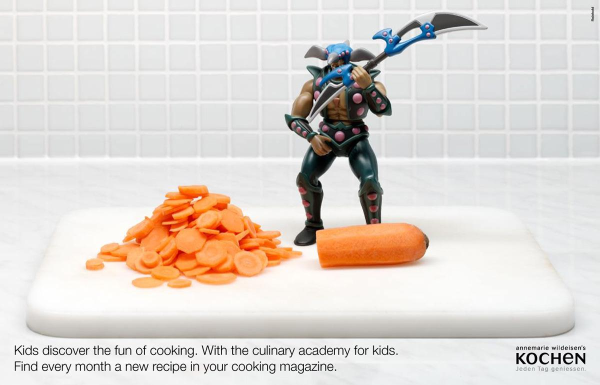Kochen Print Ad -  Carrot