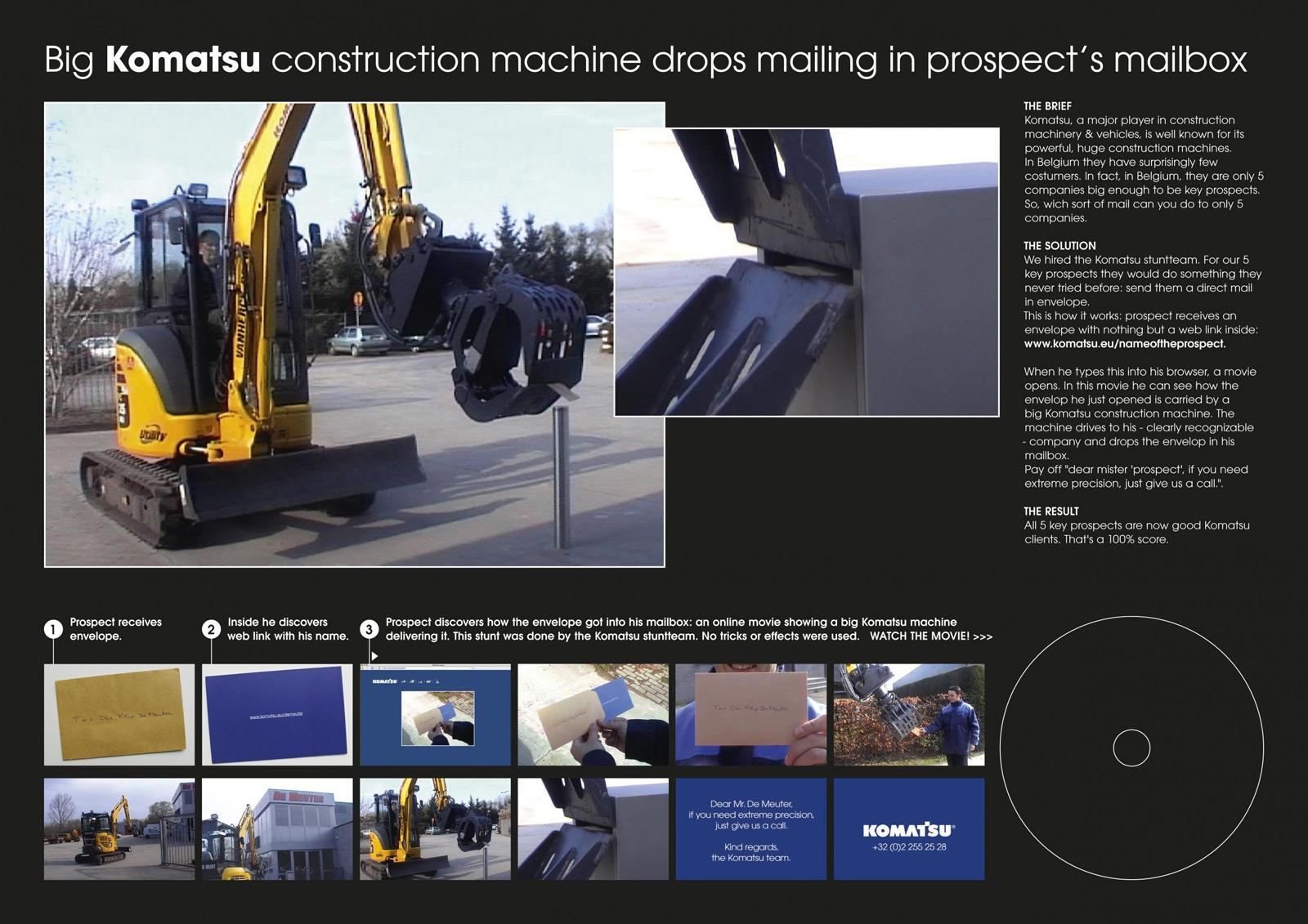 Komatsu Direct Ad -  Xtreme precision