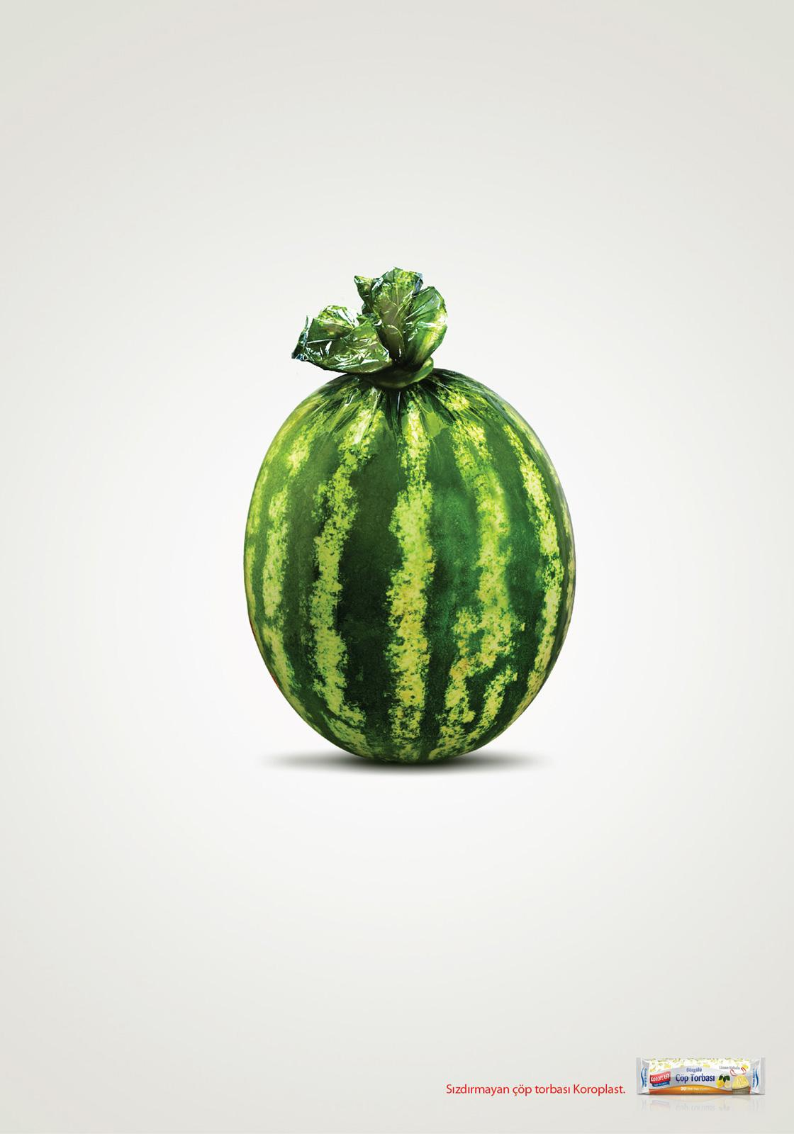Koroplast Print Ad -  Melon