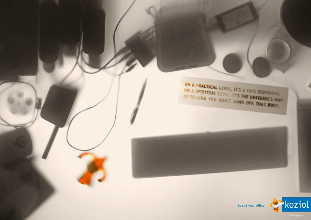 Koziol Print Ad -  Koziol your office, 2