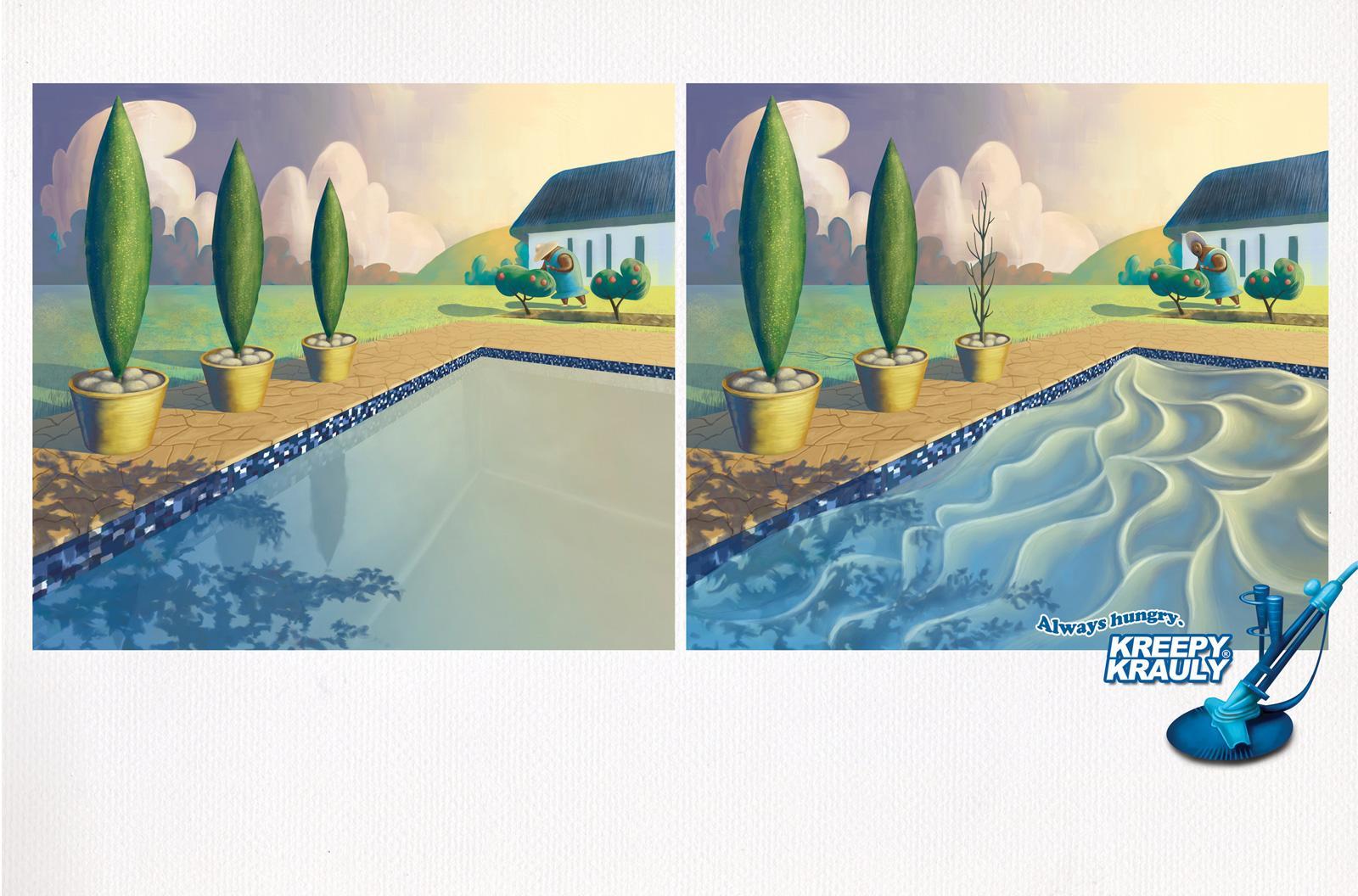 Kreepy Krauly Print Ad -  Tree