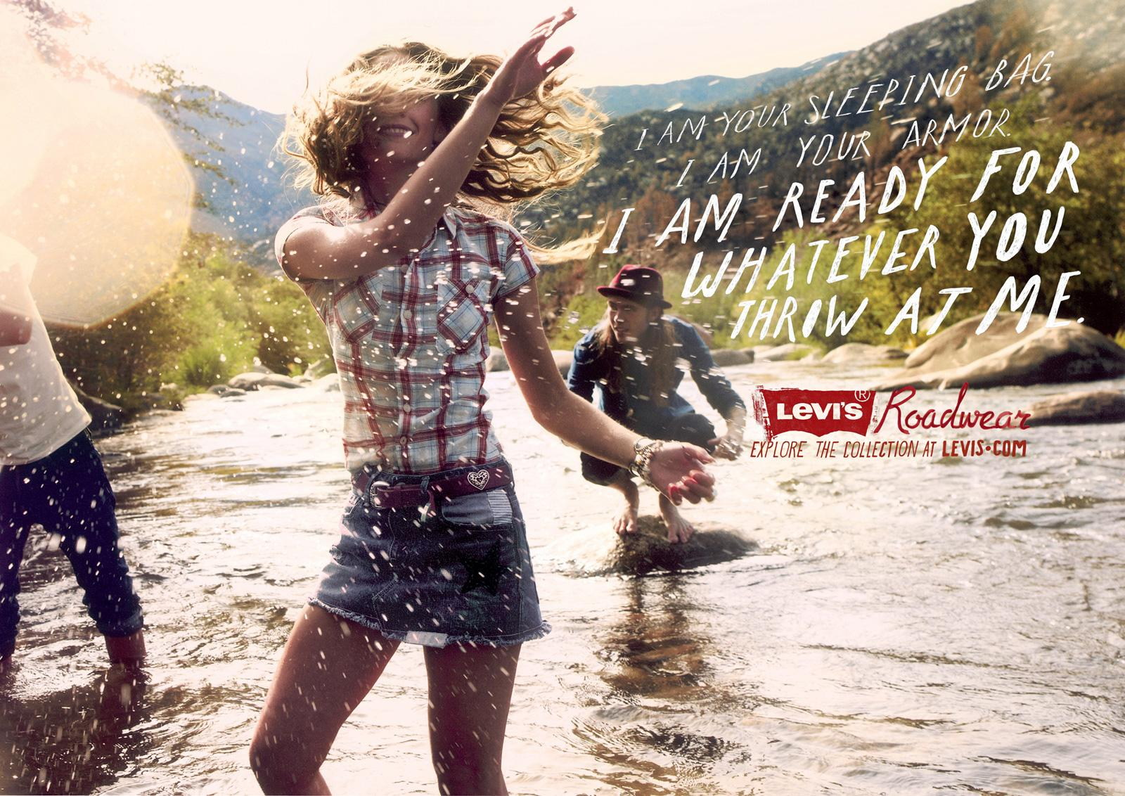 Levi's Print Ad -  Creek