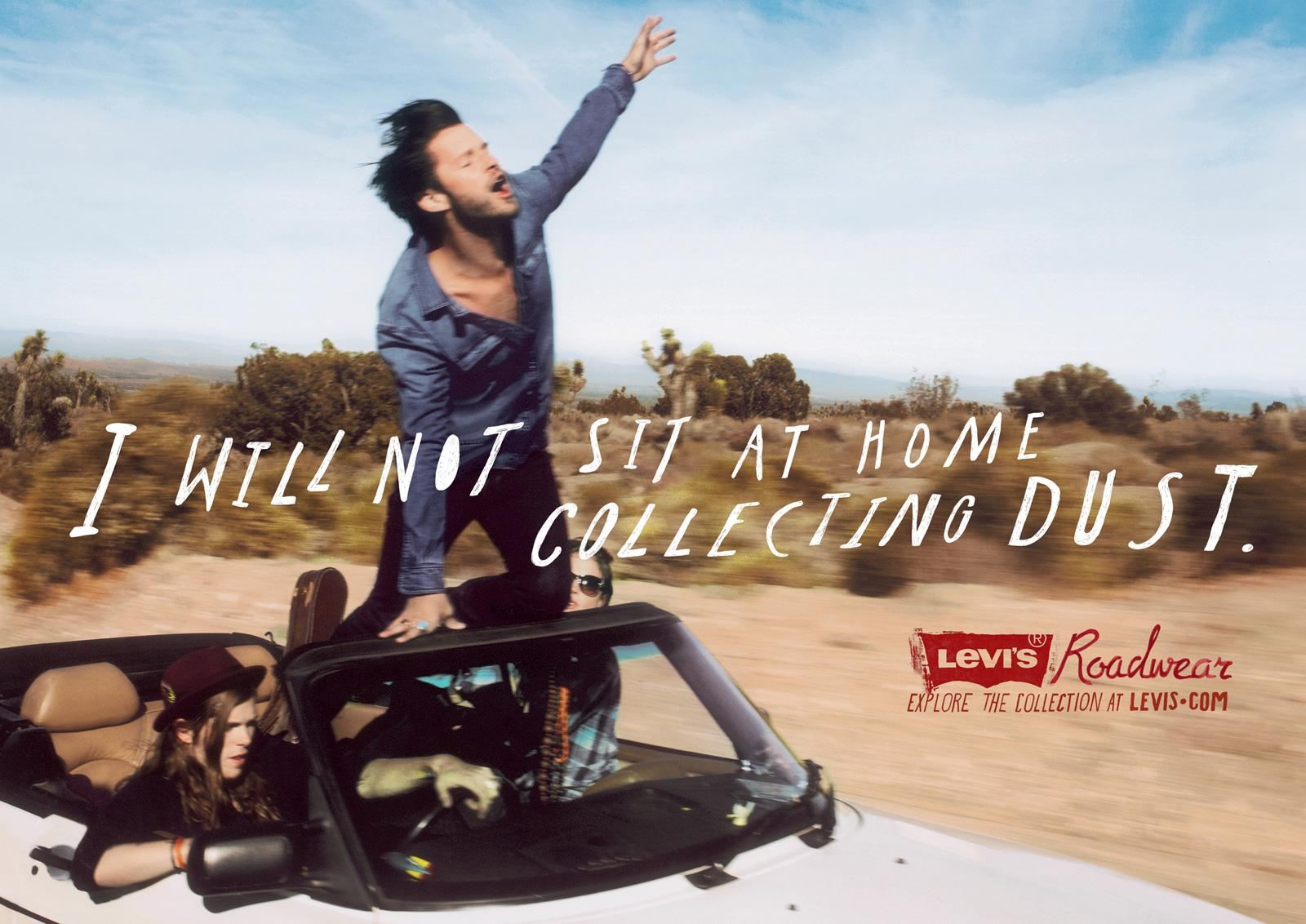 Levi's Print Ad -  Open Road