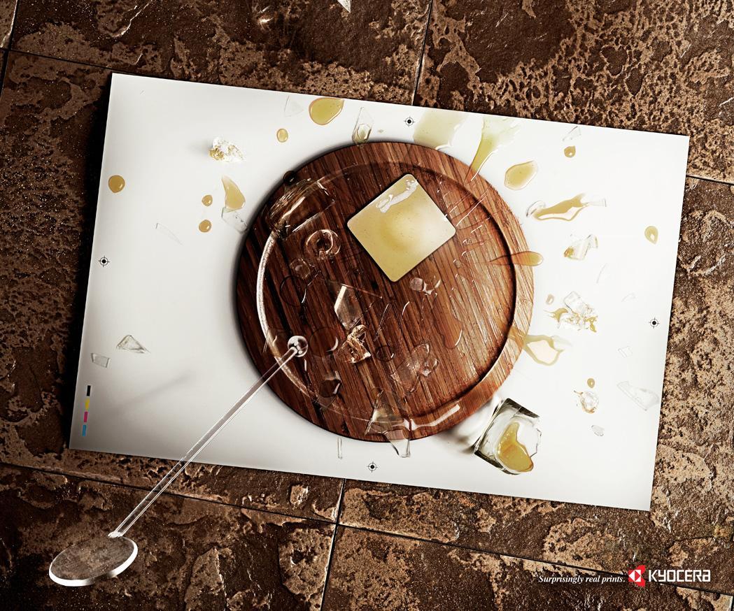 Kyocera Print Ad -  Whiskey