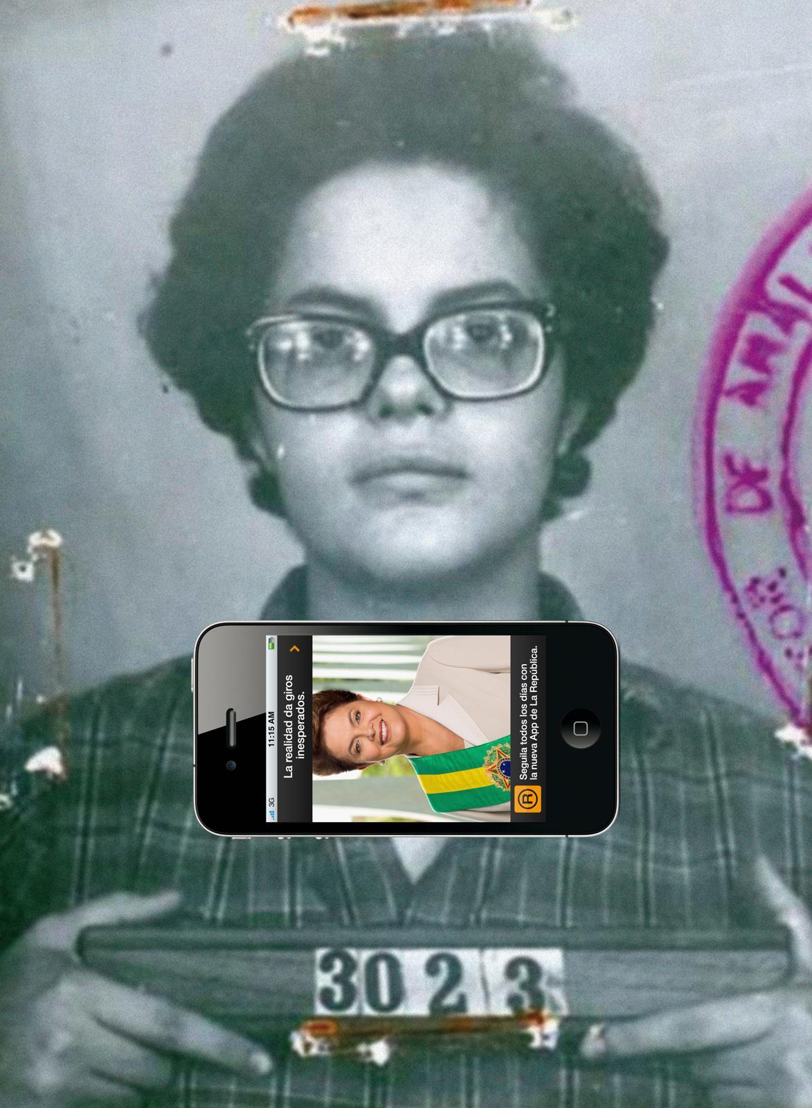 La Republica Print Ad -  Dilma