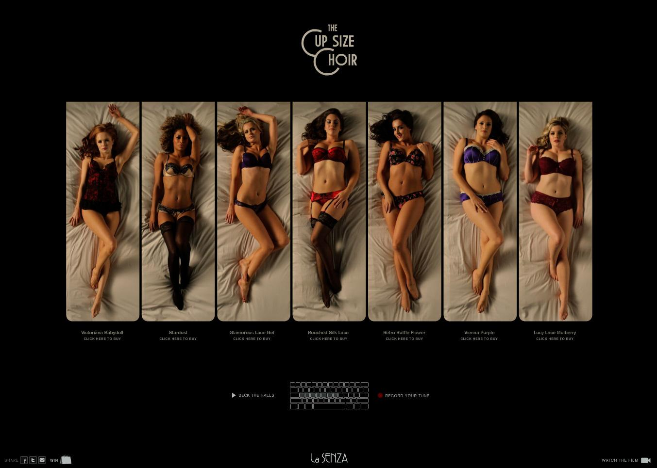 La Senza Digital Ad -  The Cup Size Choir