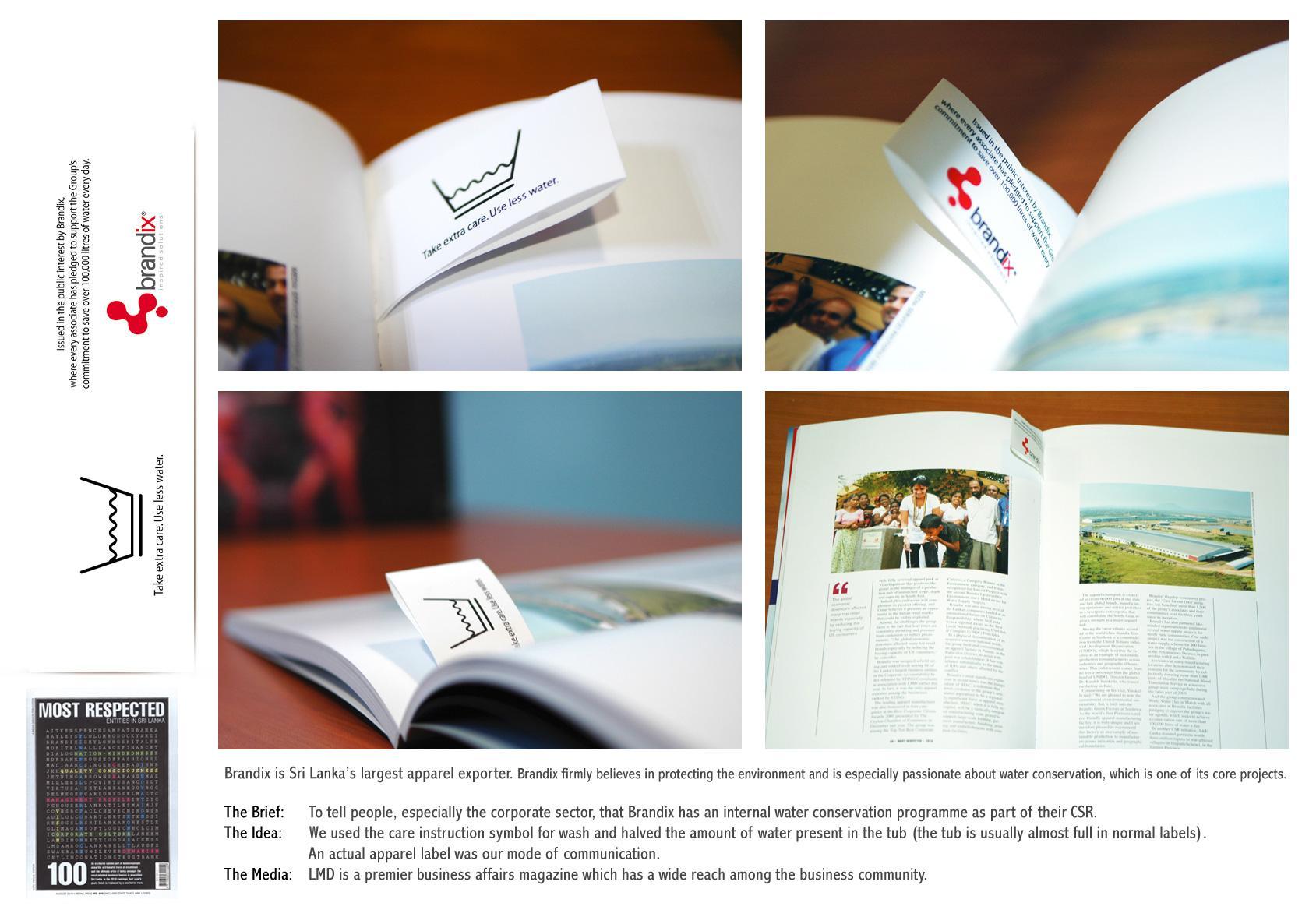 Brandix Print Ad -  Label