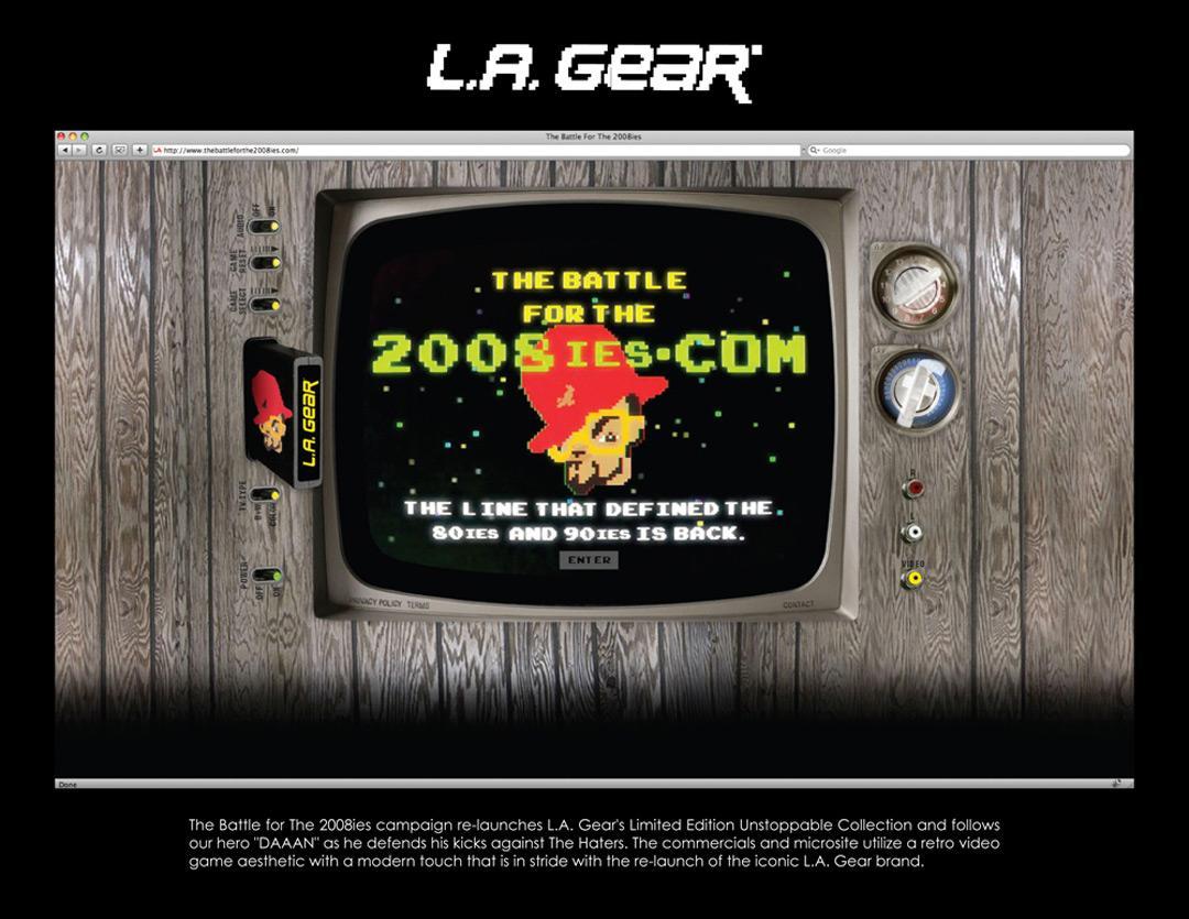 L.A. Gear Digital Ad -  Battle