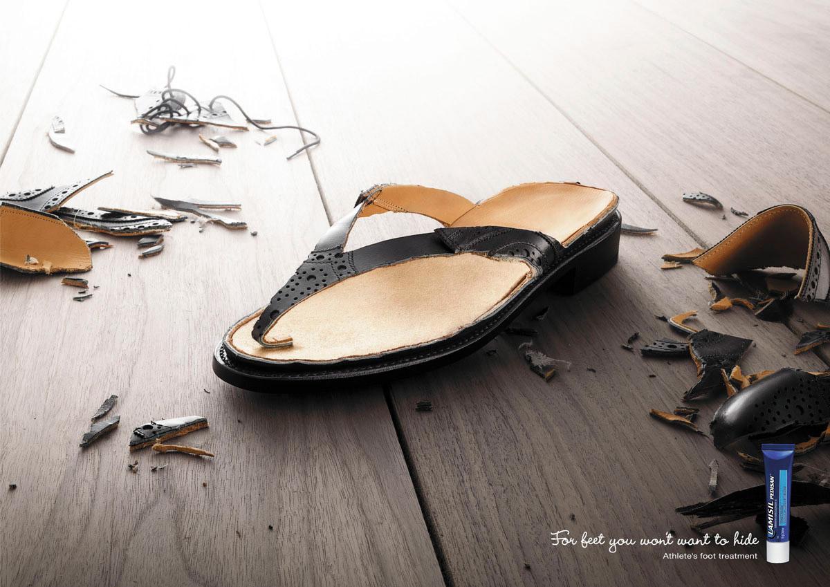 Lamisil Print Ad -  Sandal, 1
