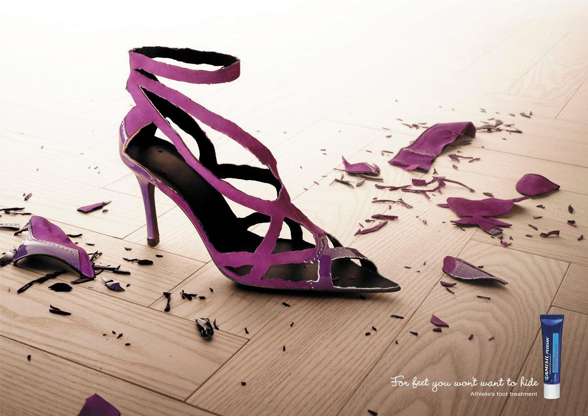 Lamisil Print Ad -  Sandal, 2