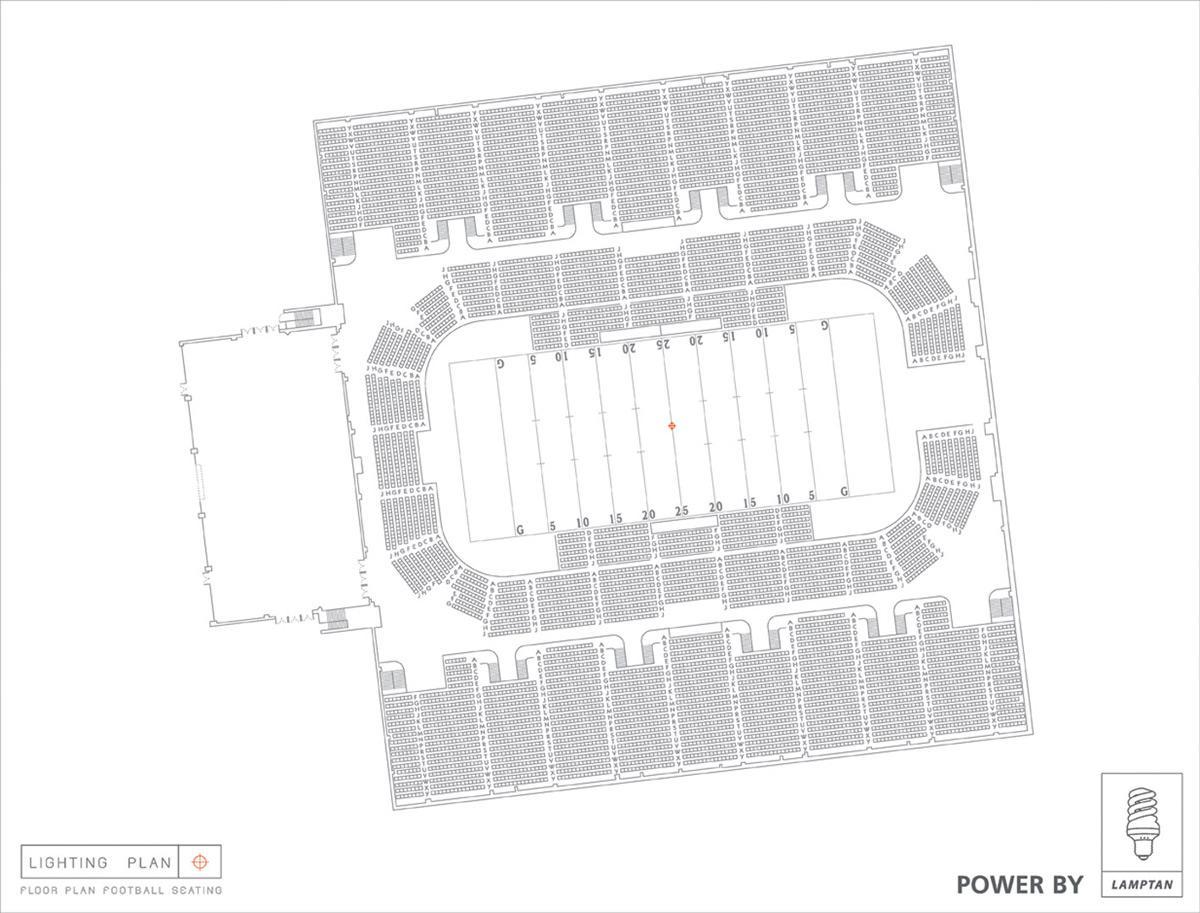 Floor Plan Football Seating