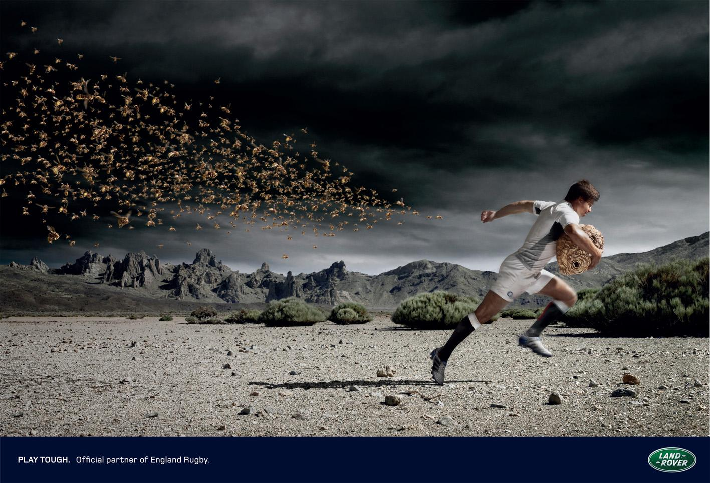 Land Rover Print Ad -  Hornets
