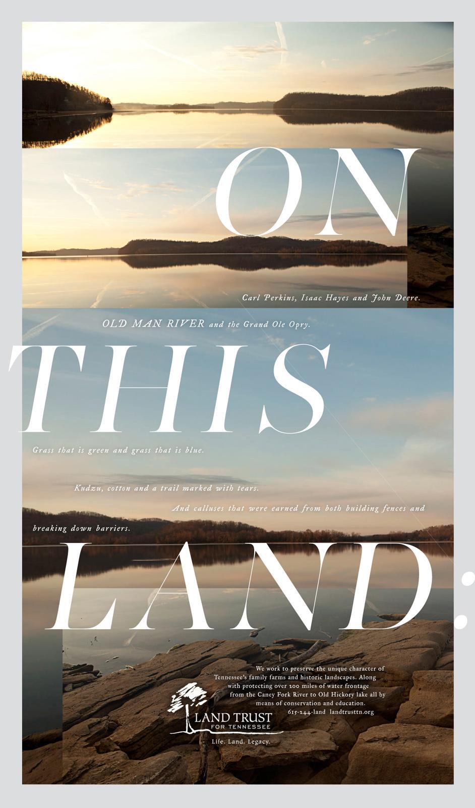 Landtrust of Tennessee Print Ad -  Landtrust, 2