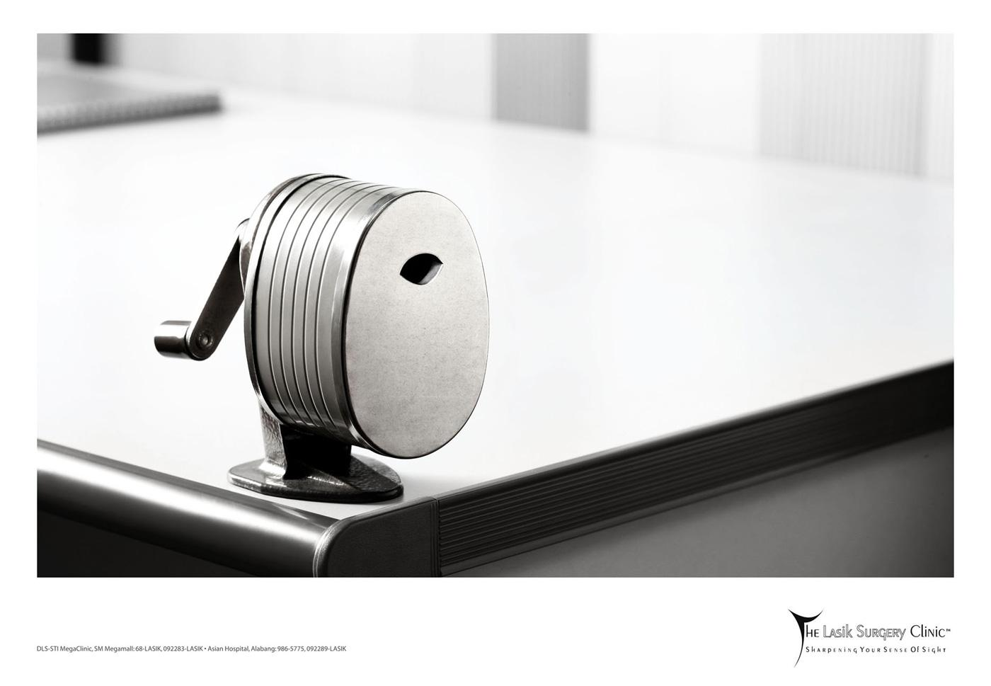 The Lasik Surgery Clinic Print Ad -  Sharpener