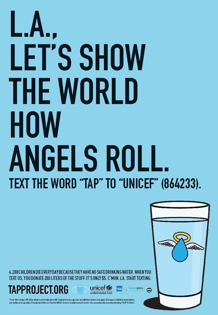 Unicef Print Ad -  Angels