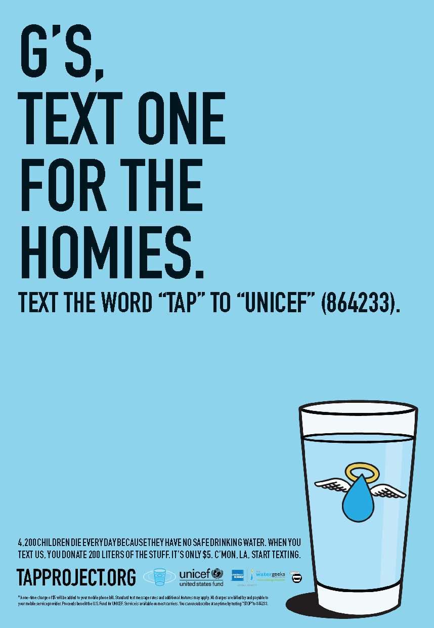 Unicef Print Ad -  Homies