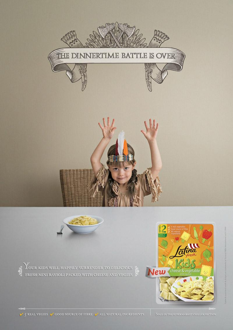 Latina Kids Print Ad -  Surrender, 1