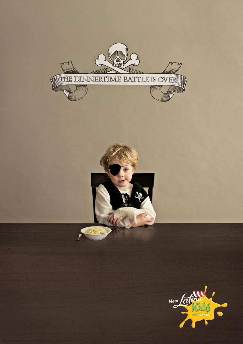 Latina Kids Print Ad -  Surrender, 2