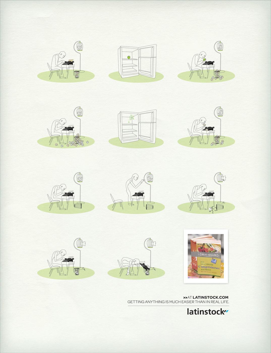 Latinstock Print Ad -  Easy, 2