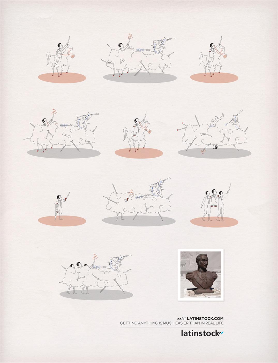Latinstock Print Ad -  Easy, 3