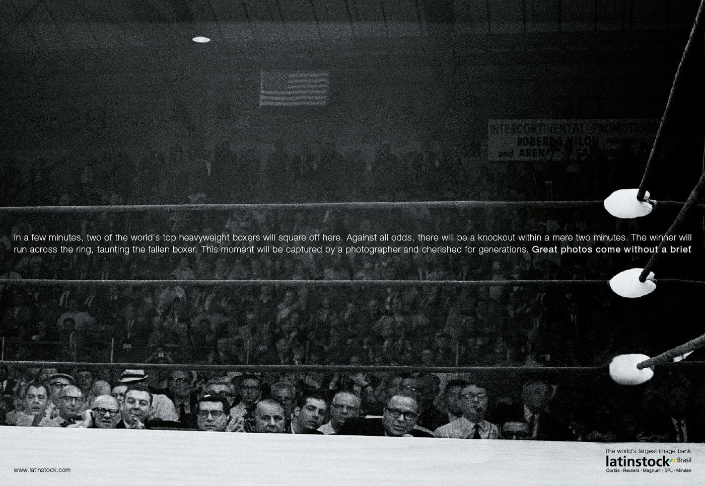 Latinstock Print Ad -  Boxing