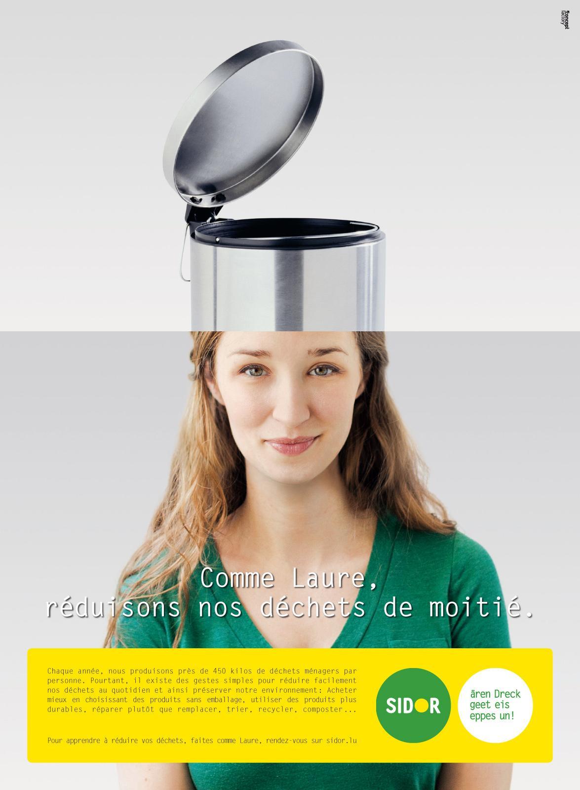 Sidor Print Ad -  Laure