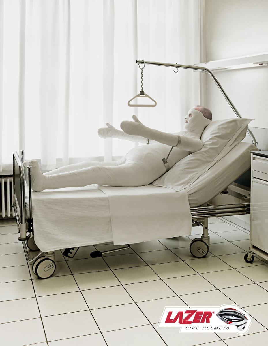Lazer Print Ad -  Hospital
