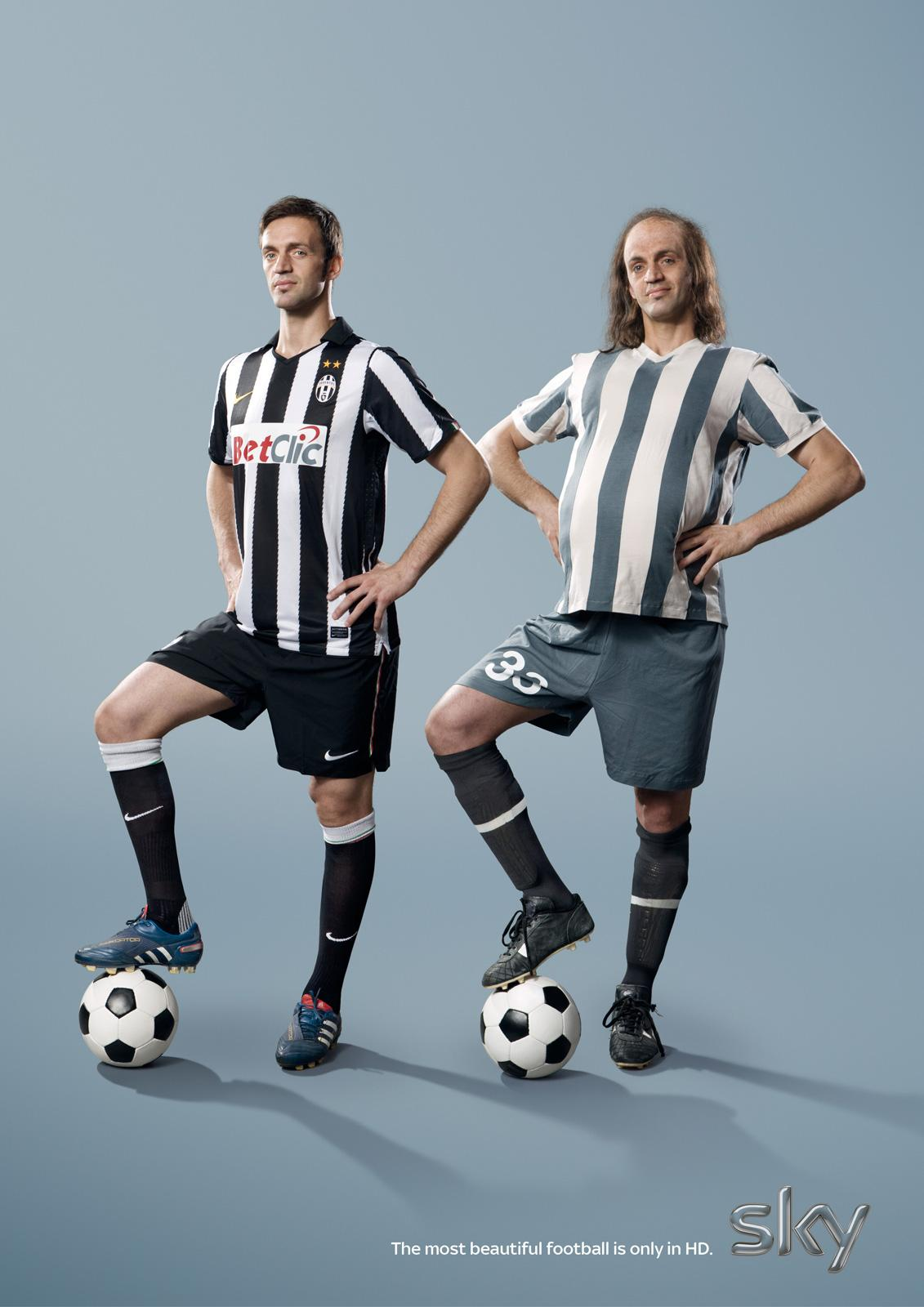 SKY Print Ad -  The most beautiful football, Le Grottaglie