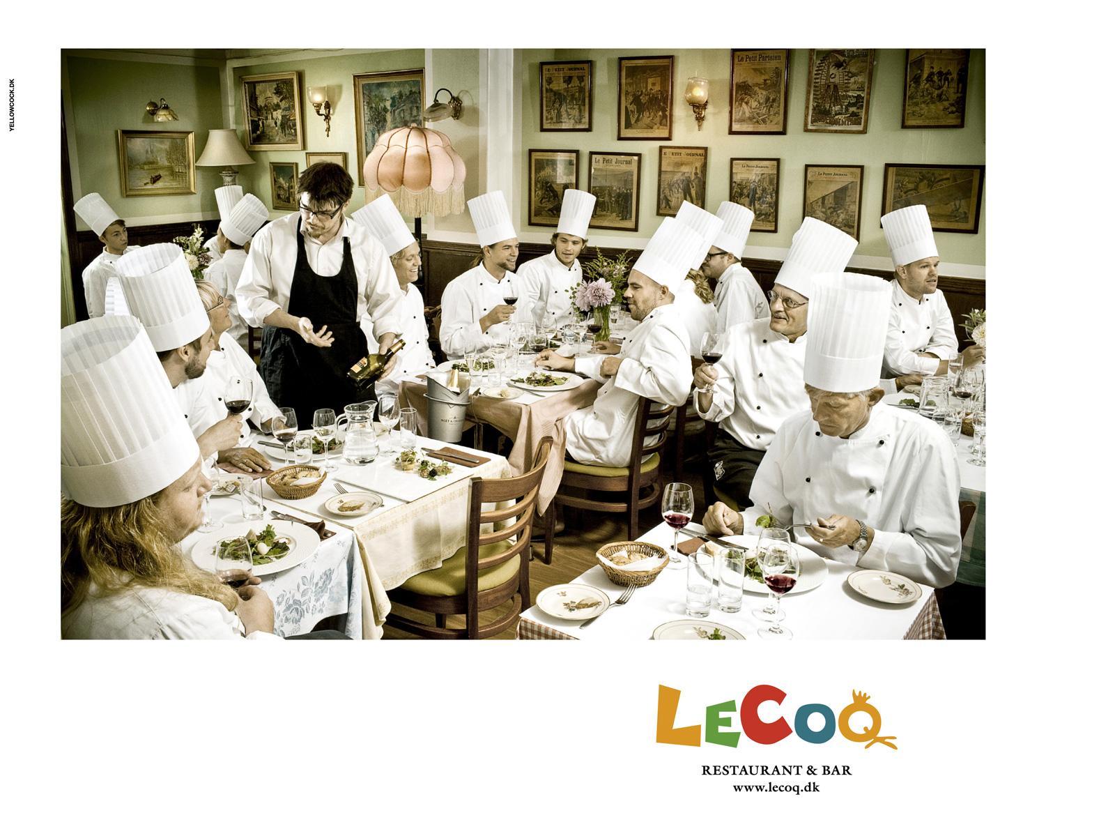 LeCoq Print Ad -  Cooks