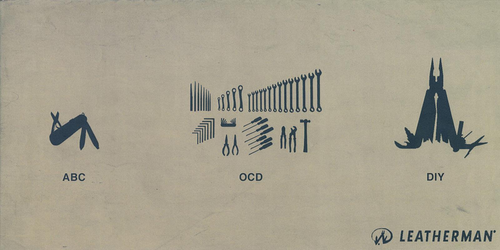 Leatherman Print Ad -  DIY