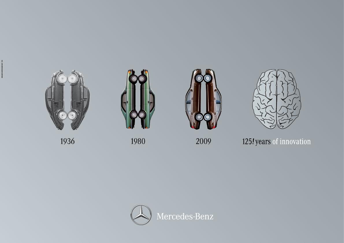 Mercedes Outdoor Ad -  Right Brain / Left Brain, 5