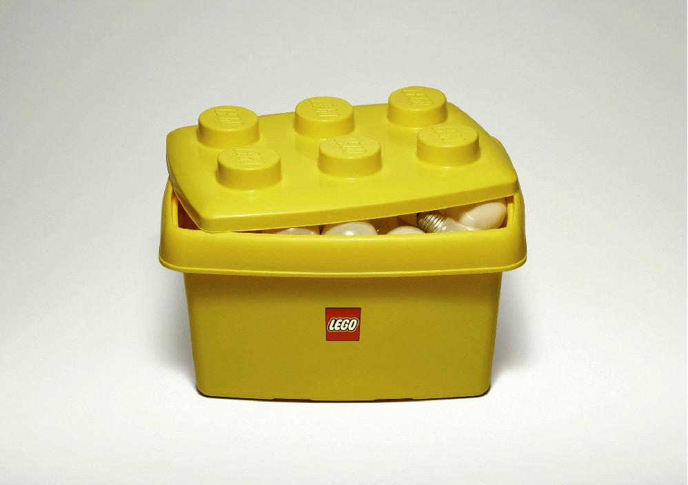 Lego Print Ad -  Lightbulbs