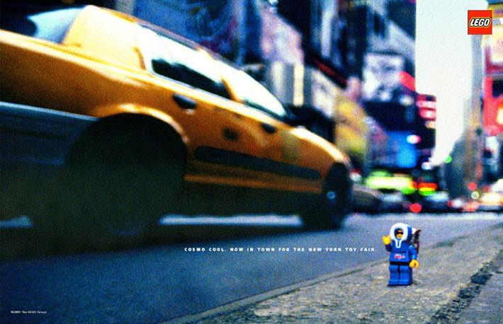 Lego Print Ad - Lego Cosmo Cool