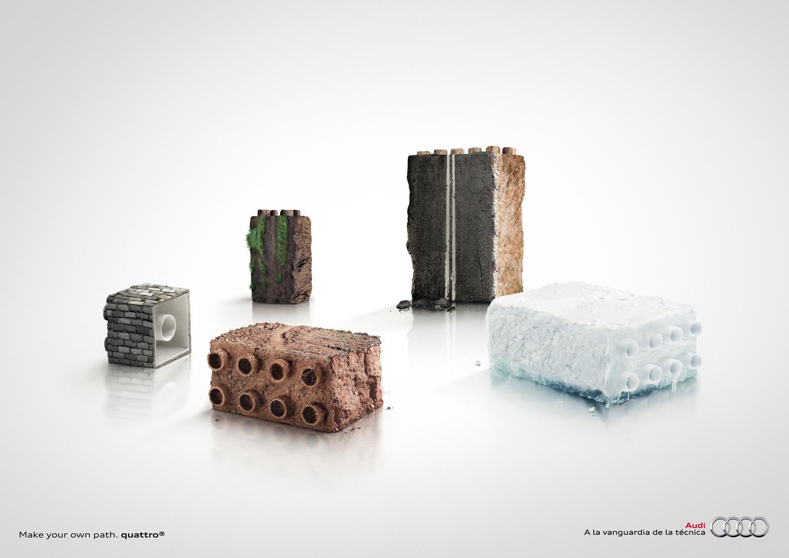 Audi Print Ad -  Path