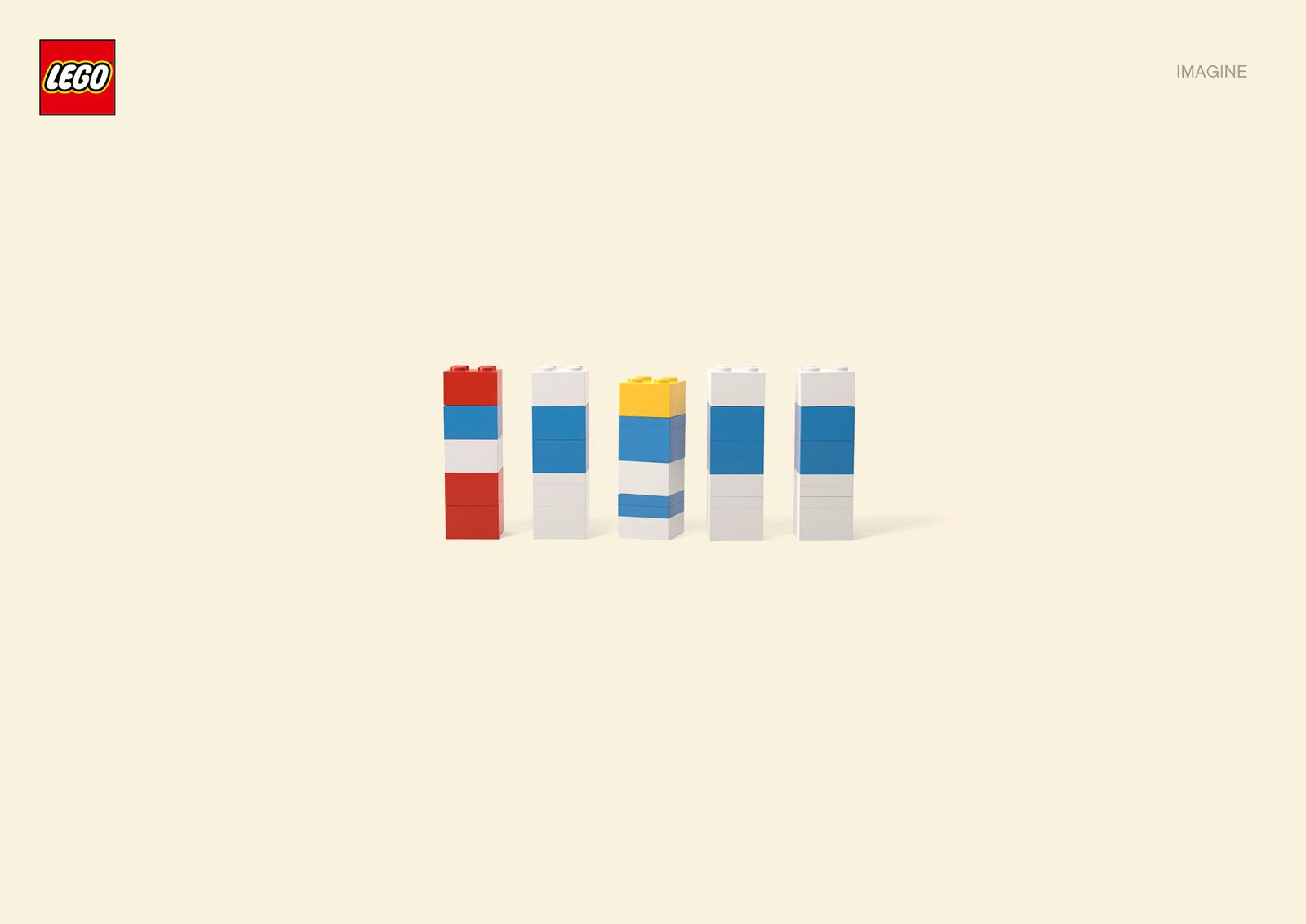 Lego Print Ad -  The Smurfs