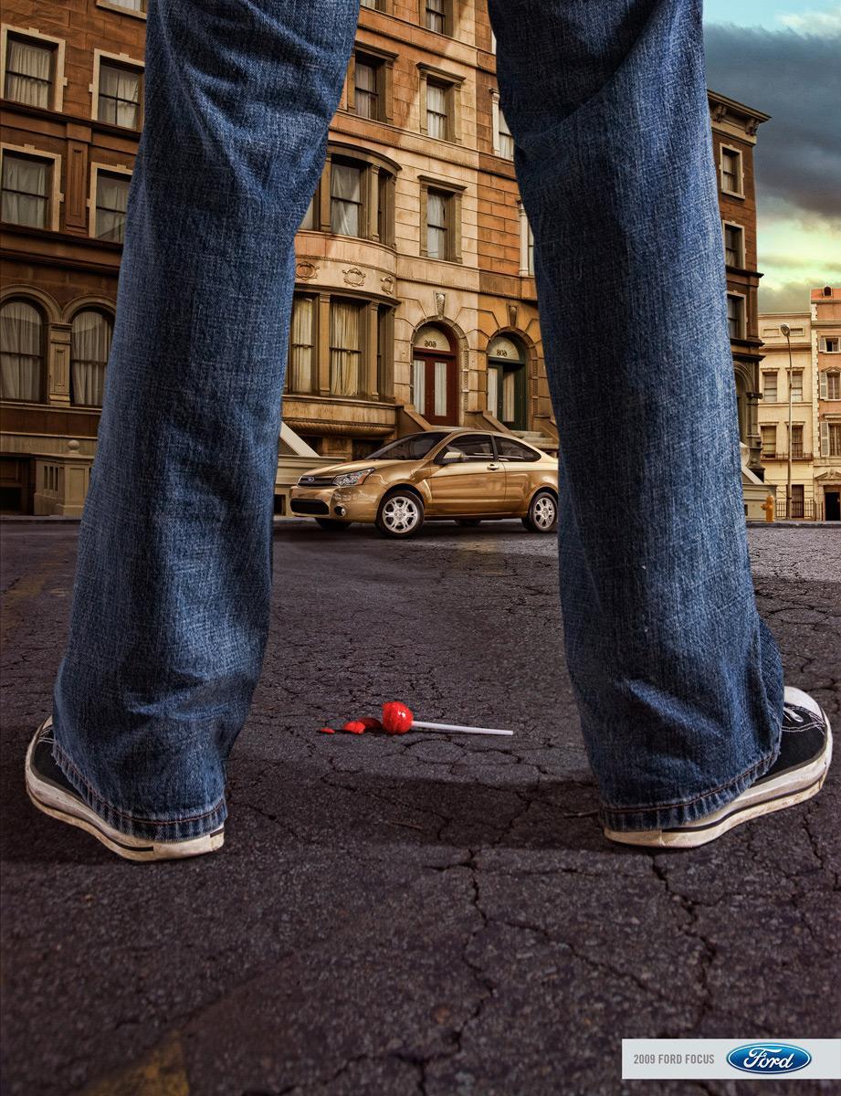 Ford Print Ad -  Legs, 2