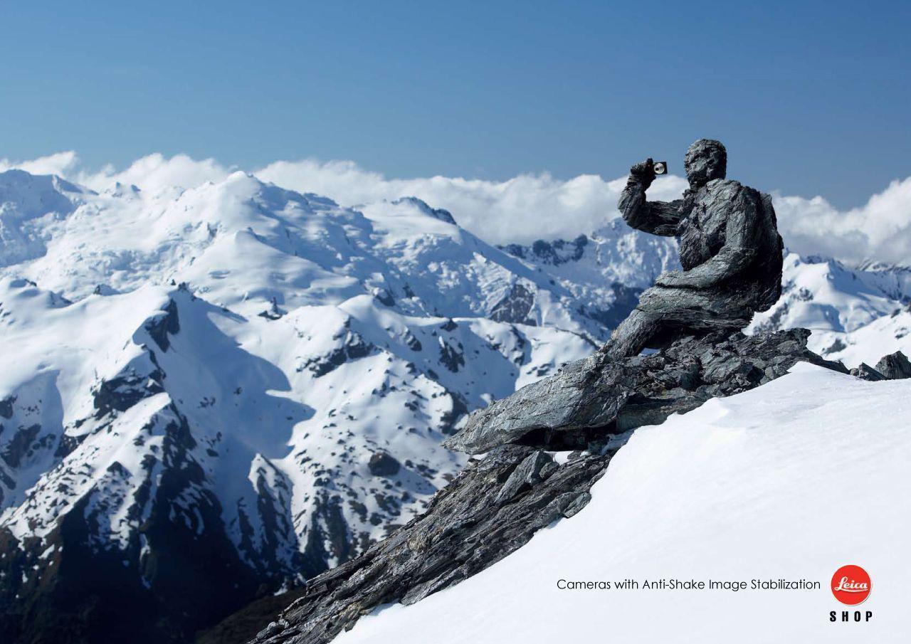 Leica Print Ad -  Mountain