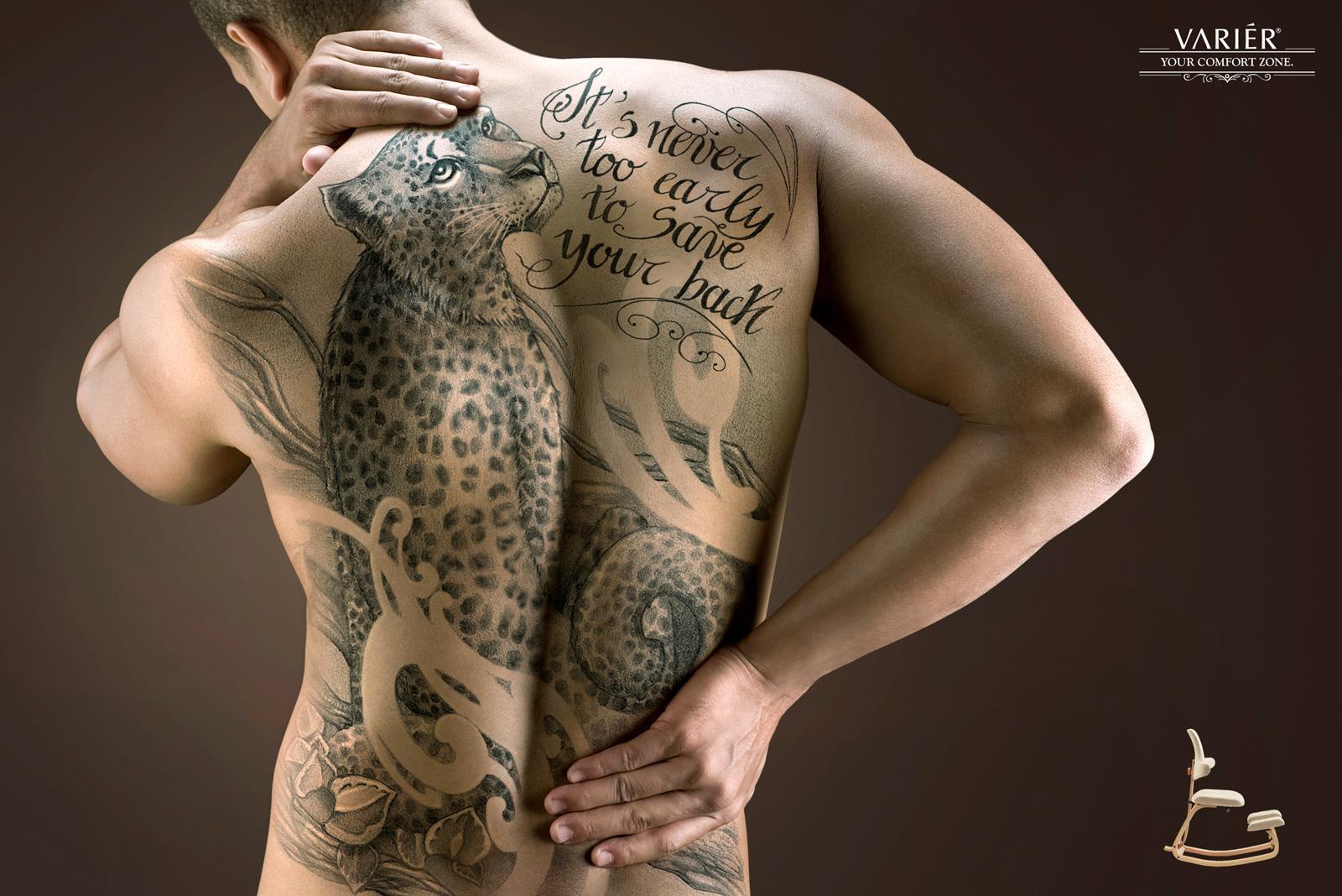 Variér Print Ad -  Leopard