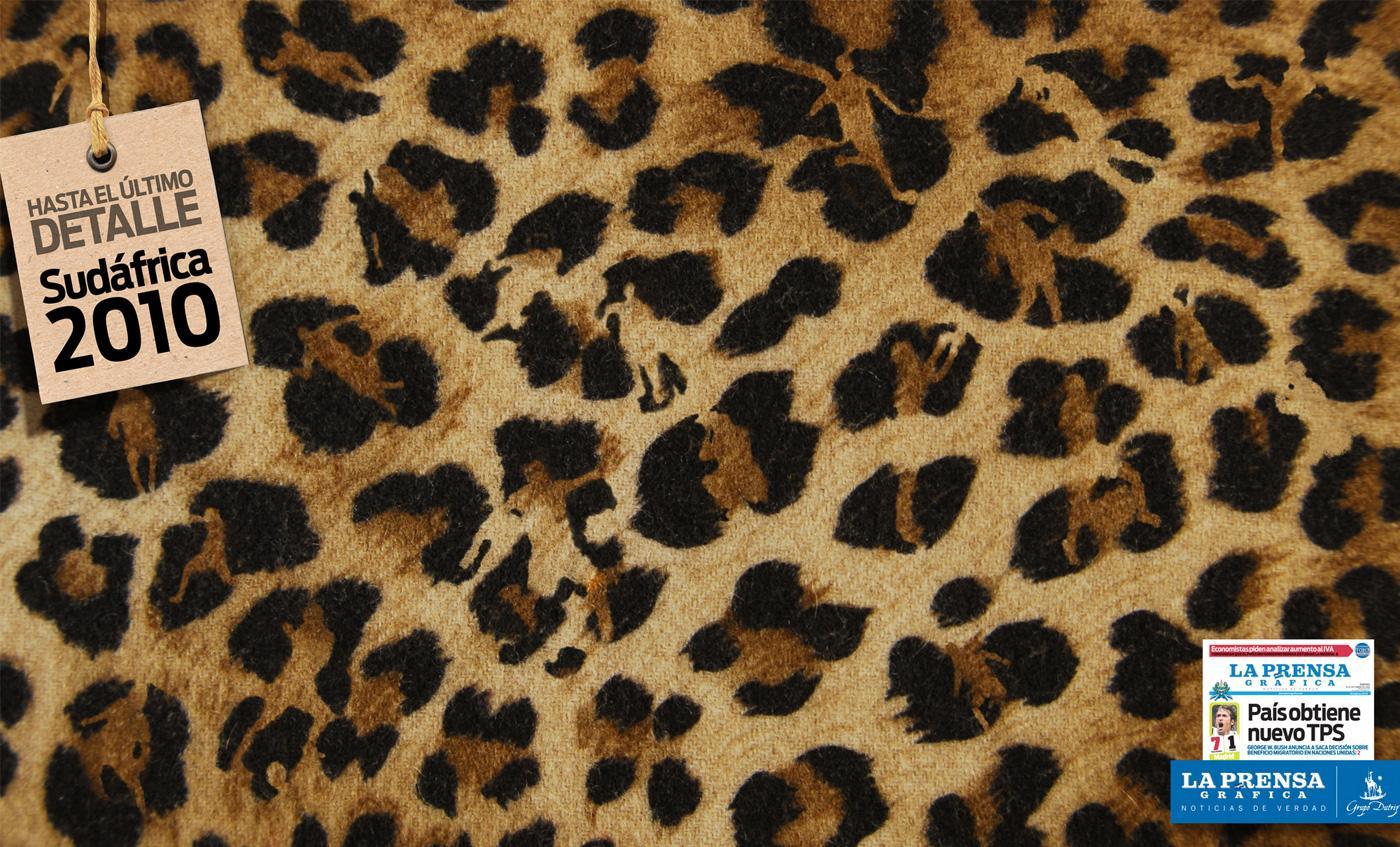 La Prensa Print Ad -  Leopard