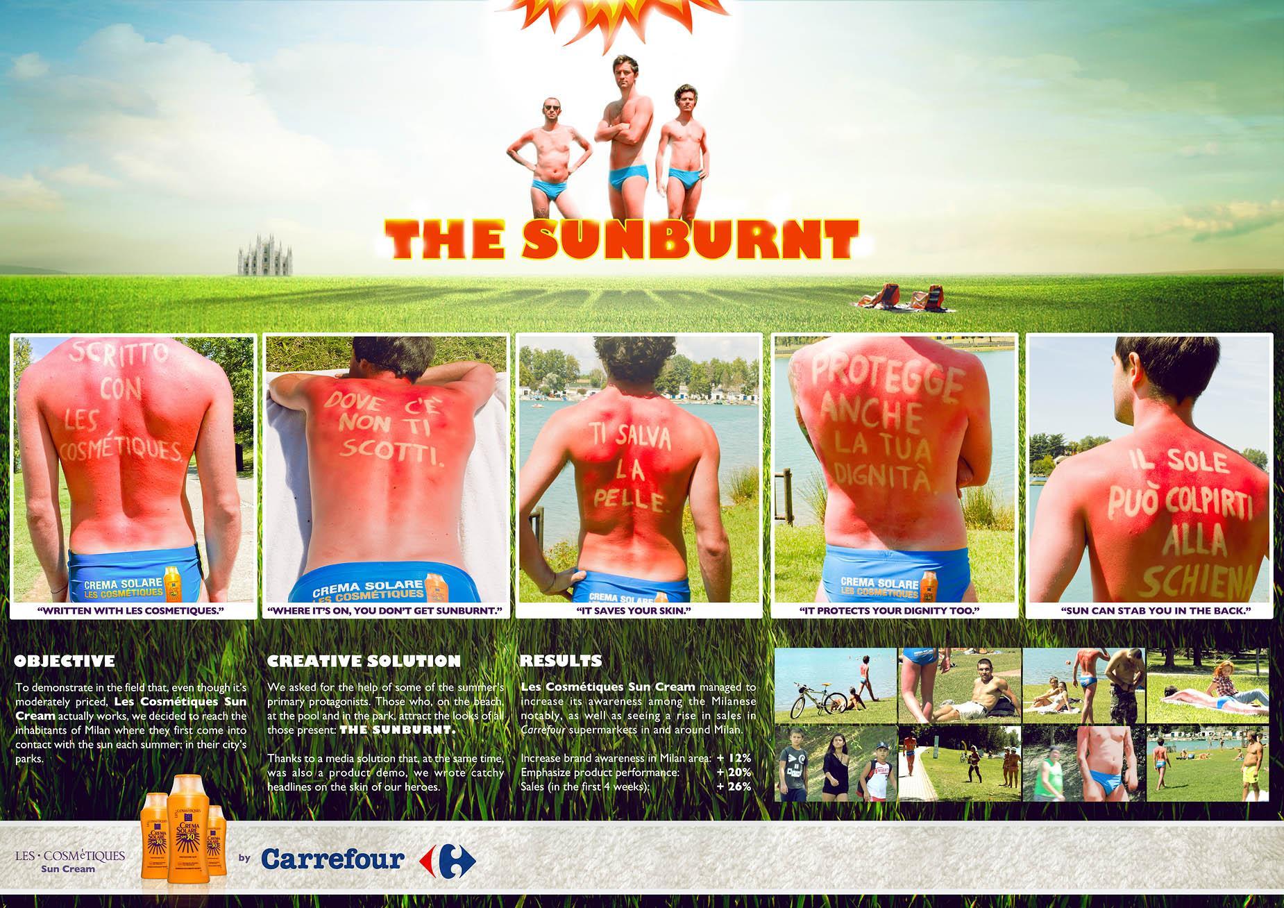Les Cosmétiques Ambient Ad -  The Sunburnt