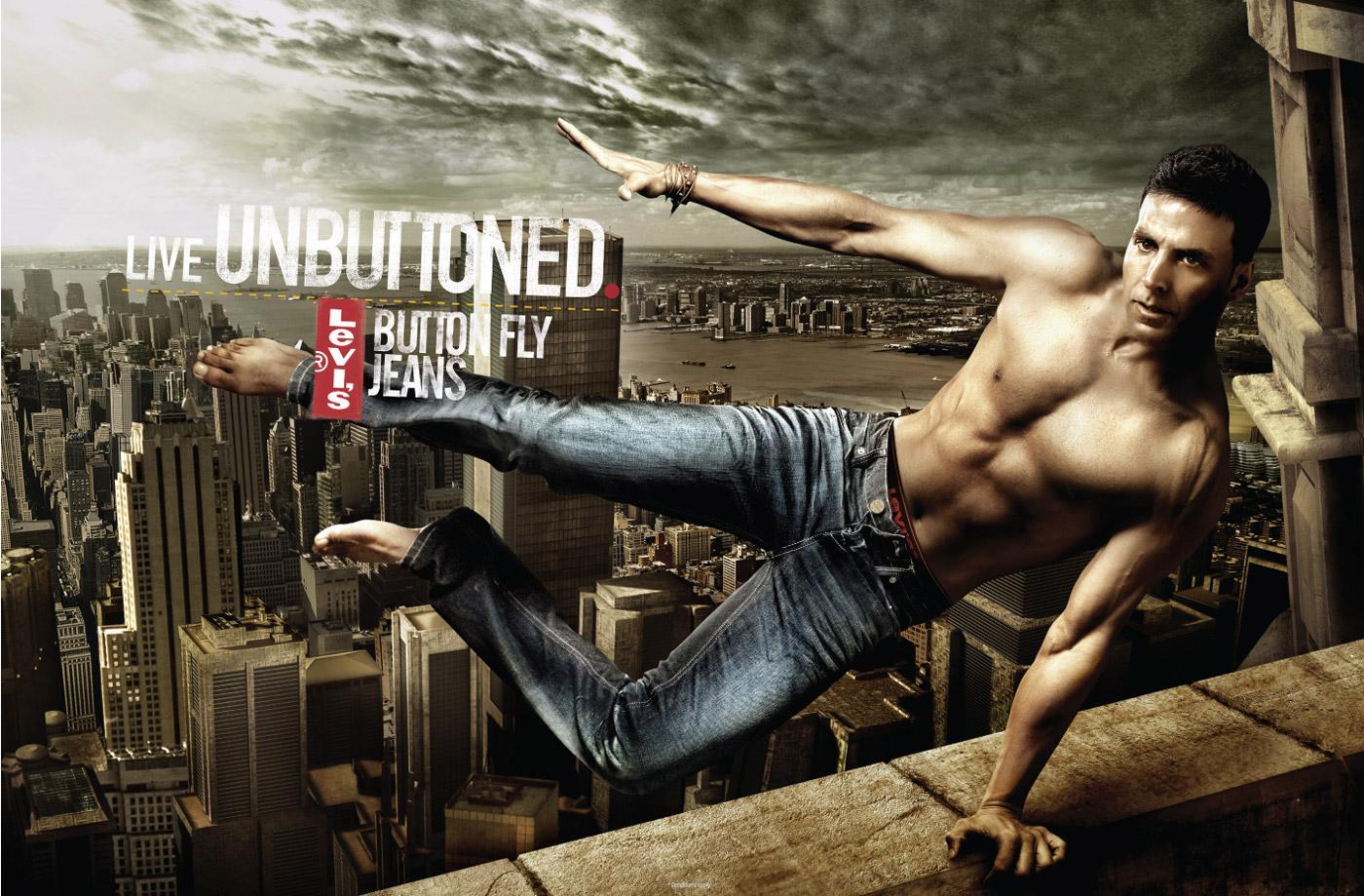 Levi's Print Ad -  Live unbuttoned, 3