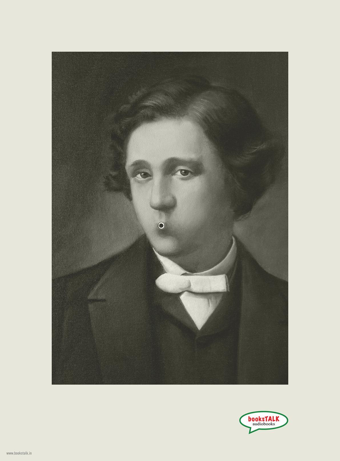 booksTALK Print Ad -  Lewis Carroll