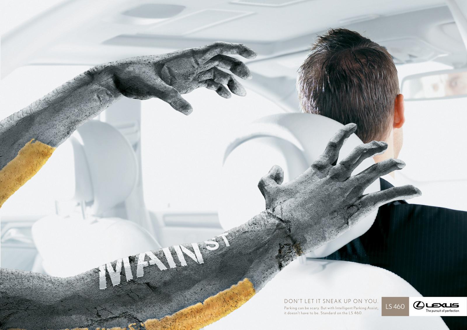 Lexus Print Ad -  Pavement