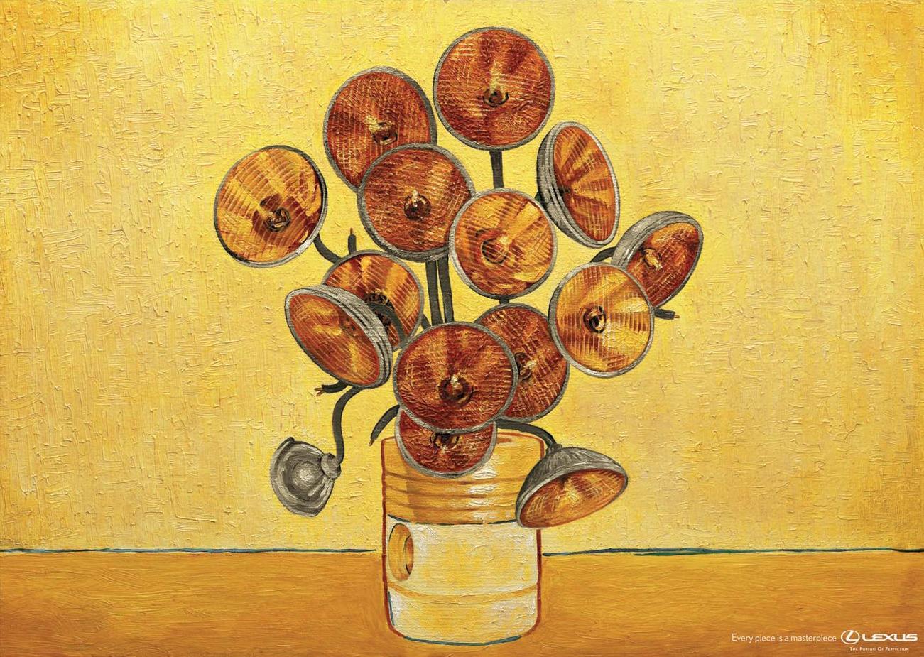 Lexus Print Ad -  Van Gogh
