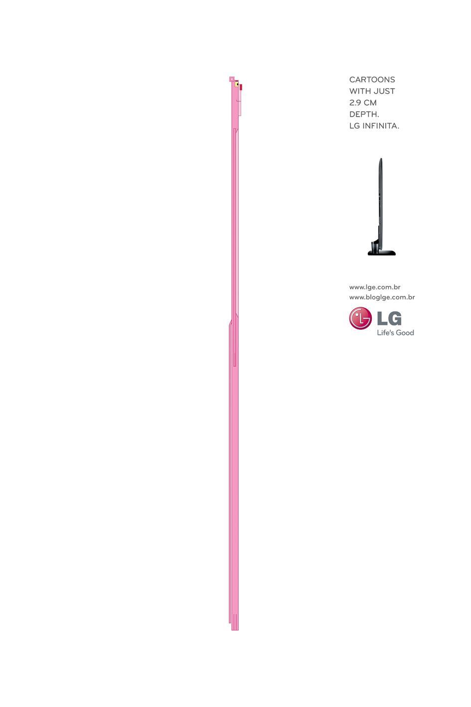 LG Print Ad -  Pink Panther