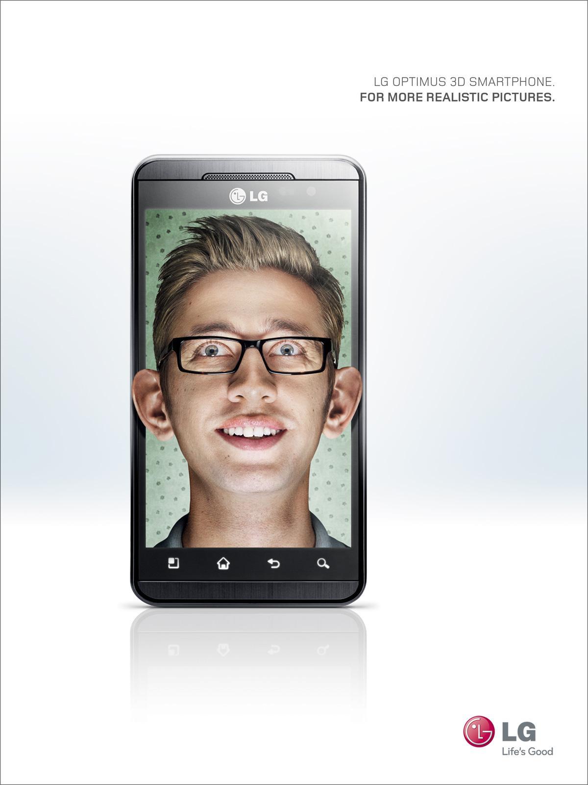 LG Print Ad -  Ears