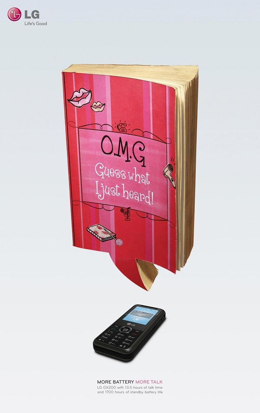 LG Outdoor Ad -  Chick Lit