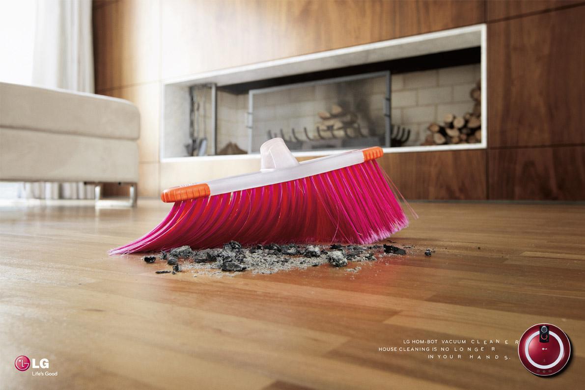 LG Print Ad -  Broom, 3