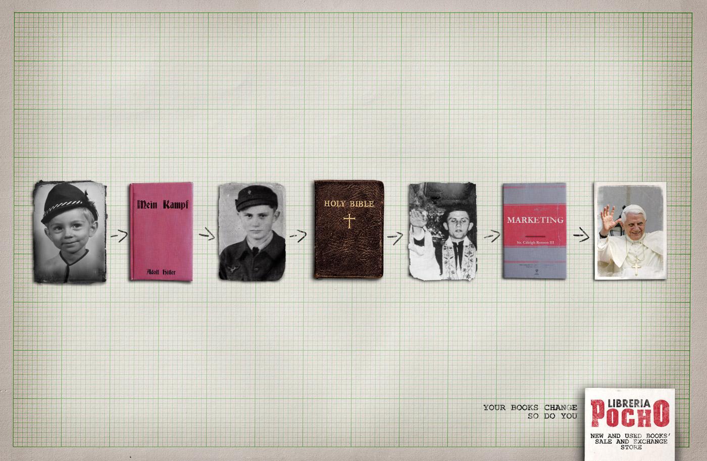 Libreria Pocho Print Ad -  Ratzinger