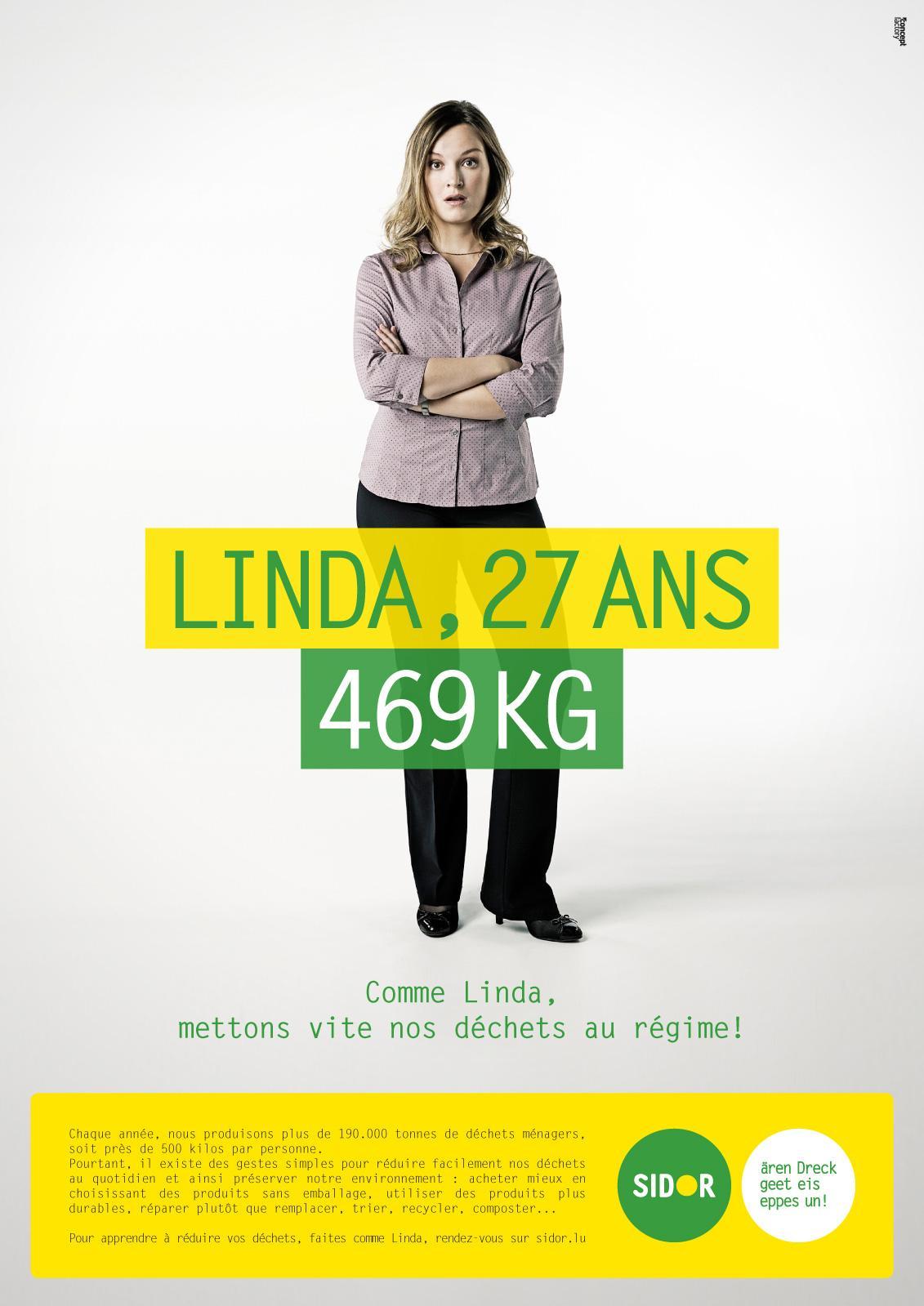 Sidor Print Ad -  Linda